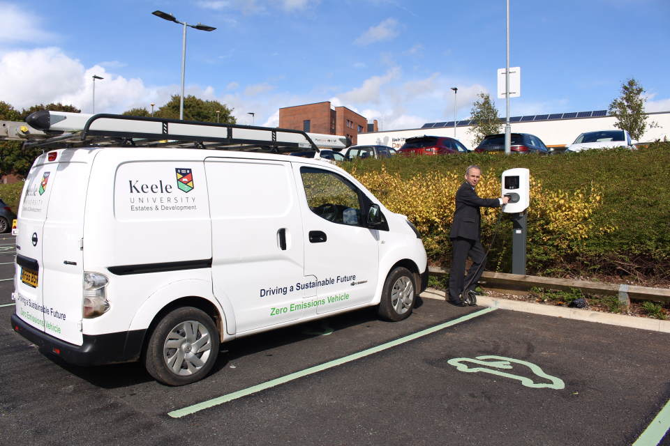 A green light for electric vehicles nationally and at Keele