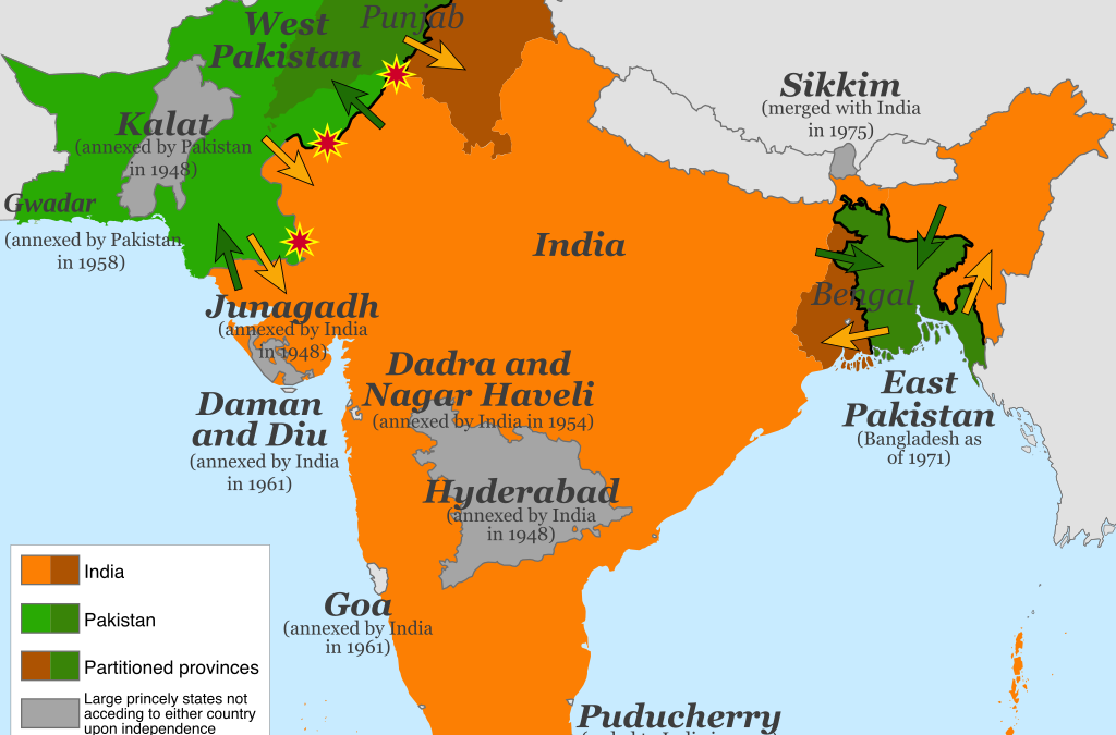 The Indian Partition: A Legacy of Lingering Scars