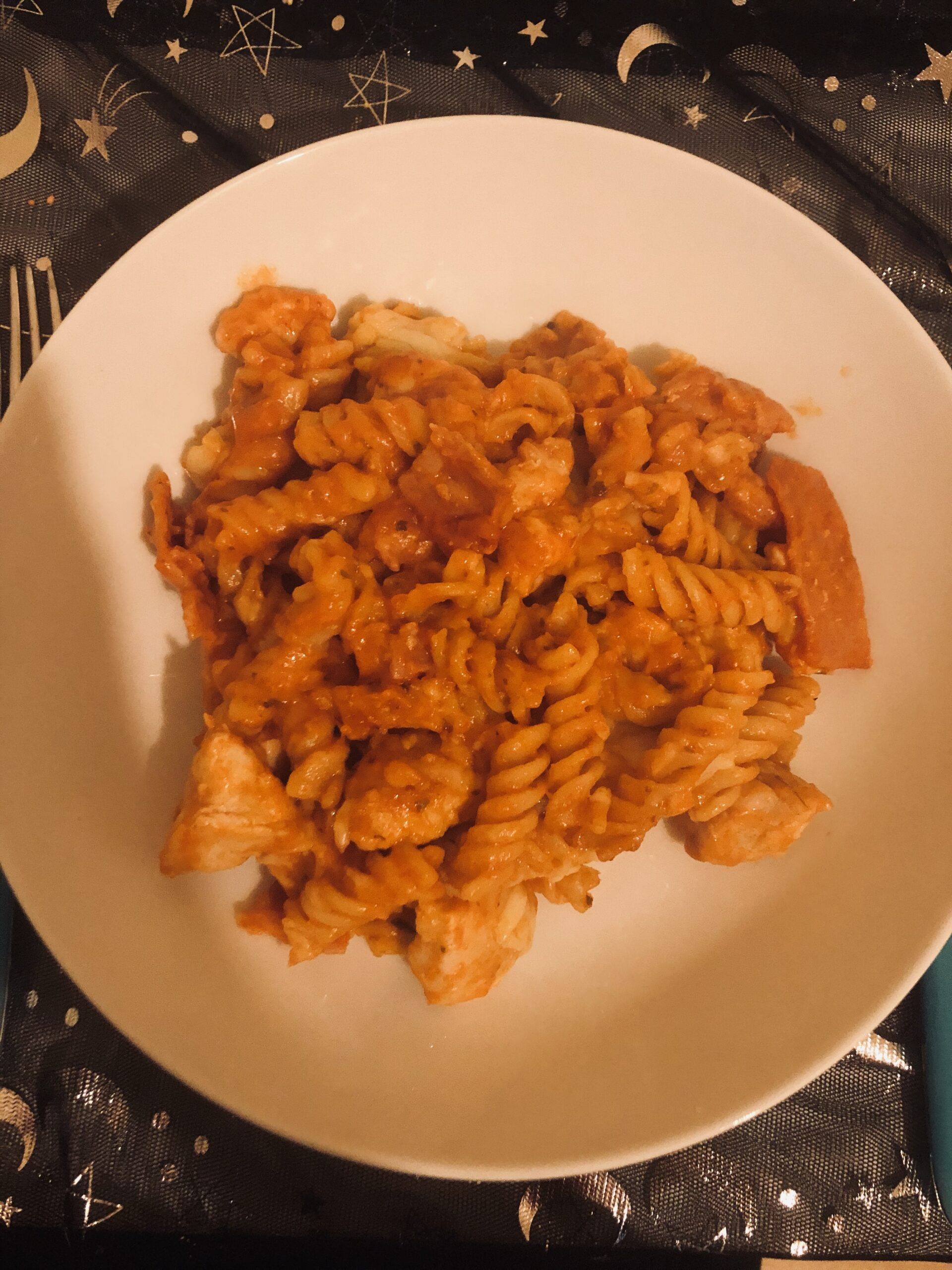 Chicken and Bacon Pasta Bake Recipe