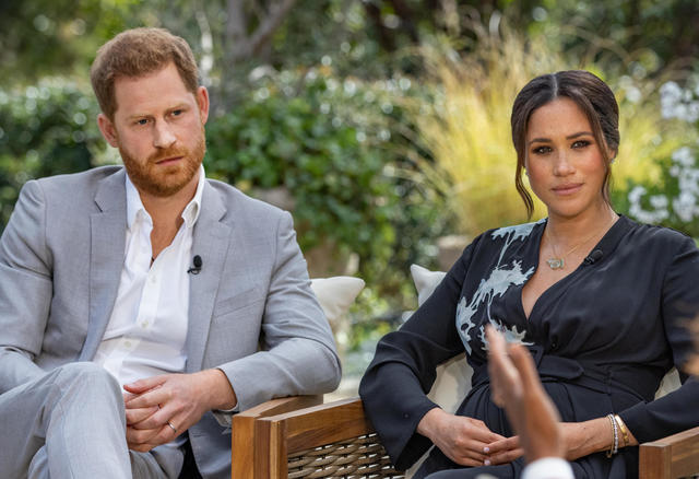 """YouTube pranksters dupe """"royal experts"""" into commenting on Prince Harry and Meghan Markle interview, days before it aired to the public"""