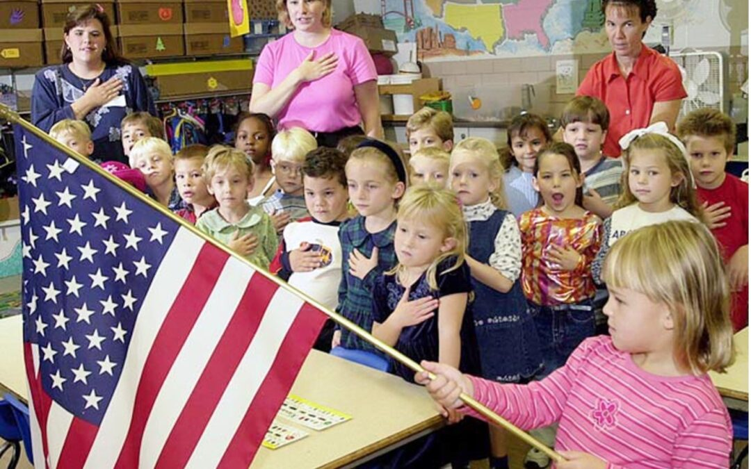 Opinion: Anyone can say the Pledge of Allegiance – just not in Arabic