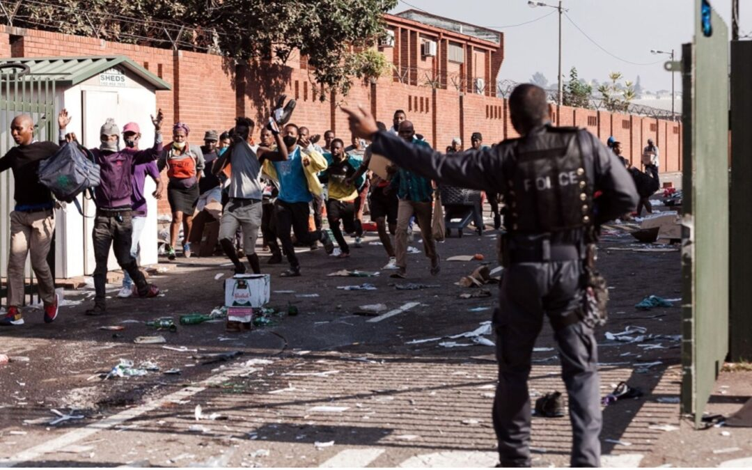Death toll rises as riots erupt in South Africa over jailing of ex-president Jacob Zuma